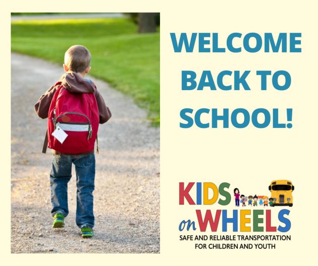 WELCOMEBACK TO SCHOOL!